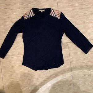 Burberry Long Sleeve Top